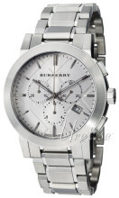Burberry Srebrny/Stal Ø42 mm