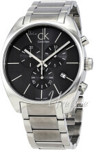 Calvin Klein Exchange Czarny/Stal Ø44 mm