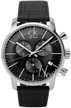 Calvin Klein City Chronograph Czarny/Skóra