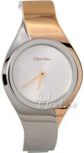 Calvin Klein Srebrny/Stal w kolorze różowego złota