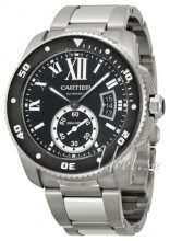 Cartier Calibre De Cartier Czarny/Stal Ø42 mm