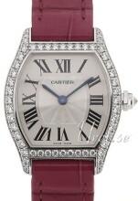 Cartier Tortue Srebrny/Skóra