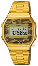 Casio Casio Collection Ekran LCD/Stal w odcieniu złota