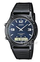 Casio Czarny/Żywica z tworzywa sztucznego Ø38.8 mm