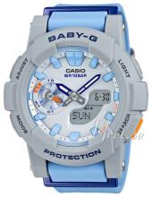 Casio Baby-G Szary/Żywica z tworzywa sztucznego