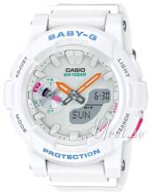 Casio Baby-G Biały/Żywica z tworzywa sztucznego