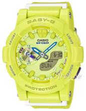 Casio Baby-G Żółty/Żywica z tworzywa sztucznego Ø44 mm