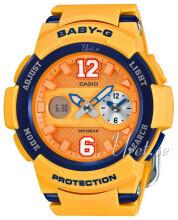 Casio Baby-G Pomarańczowy/Żywica z tworzywa sztucznego