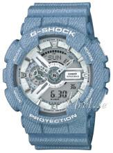 Casio G-Shock Srebrny/Żywica z tworzywa sztucznego