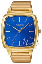 Casio Casio Collection Niebieski/Stal w odcieniu złota