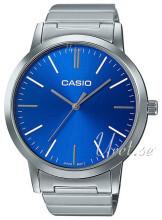 Casio Casio Collection Niebieski/Stal Ø40 mm