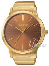 Casio Casio Collection Brązowy/Stal w odcieniu złota