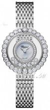 Chopard Happy Diamonds Icons Biały/18 karatowe białe złoto