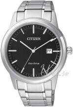 Citizen Czarny/Stal