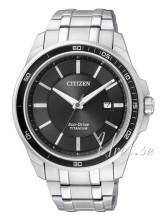Citizen Super Titanium Czarny/Tytan Ø42 mm