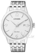 Citizen Eco Drive 180 Biały/Stal Ø40 mm