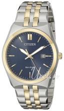 Citizen Dress Niebieski/Stal w odcieniu złota