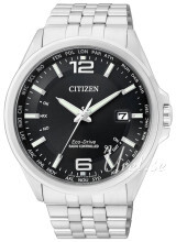 Citizen Radio Controlled Czarny/Stal