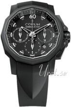 Corum Admirals Cup Challaenger 44 Czarny/Guma Ø44 mm