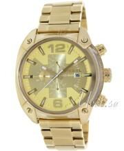 Diesel Chronograph Żółte złoto/Stal w odcieniu złota