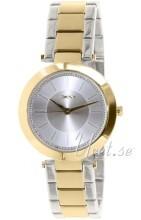 DKNY Crystal Srebrny/Stal w odcieniu złota