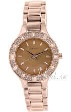 DKNY Glitz Różowe złoto/Stal w kolorze różowego złota