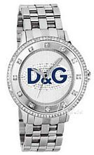Dolce & Gabbana D&G Prime Time Srebrny/Stal Ø45 mm