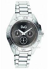 Dolce & Gabbana D&G Chamonix Czarny/Stal Ø39 mm