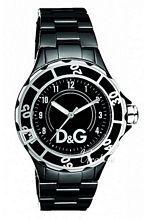 Dolce & Gabbana D&G Anchor Czarna/Stal Ø40 mm