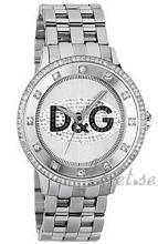 Dolce & Gabbana D&G Prime Time Srebrny/Stal Ø43 mm