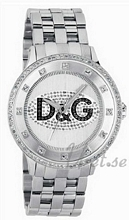 Dolce & Gabbana D&G Prime Time Srebrny/Stal Ø46 mm