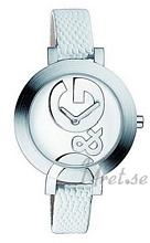 Dolce & Gabbana D&G Hoop-La Srebrny/Skóra Ø34 mm