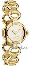 Dolce & Gabbana D&G Biały/Stal w odcieniu złota Ø25 mm