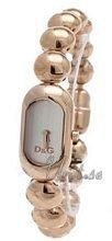 Dolce & Gabbana D&G Srebrny/Stal w kolorze różowego złota 32x16