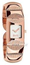 Dolce & Gabbana D&G Srebrny/Stal w kolorze różowego złota 22x22