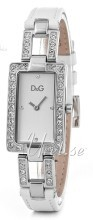 Dolce & Gabbana D&G Srebrny/Skóra 31x20 mm