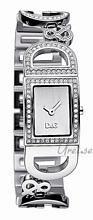 Dolce & Gabbana D&G Ireland Srebrny/Stal 25x20 mm