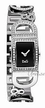Dolce & Gabbana D&G Czarny/Stal 25x20 mm