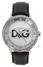 Dolce & Gabbana D&G Prime Time Srebrny/Skóra