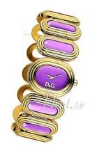 Dolce & Gabbana D&G Purpurowy/Stal w kolorze różowego złota