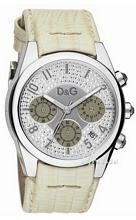 Dolce & Gabbana D&G Srebrny/Skóra Ø32 mm