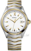 Ebel Wave Biały/Stal w odcieniu złota