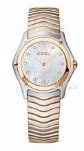 Ebel Classic Lady Biały/Stal Ø27.3 mm