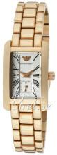 Emporio Armani Classic Srebrny/Stal w kolorze różowego złota