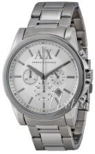 Emporio Armani Exchange Chronograph Srebrny/Stal