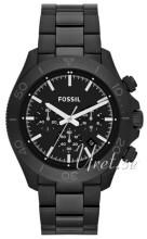 Fossil Czarny/Stal