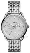 Fossil Biały/Stal Ø35 mm