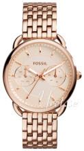 Fossil Różowe złoto/Stal w kolorze różowego złota