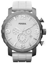 Fossil Nate Biały/Guma