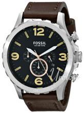 Fossil Czarny/Skóra